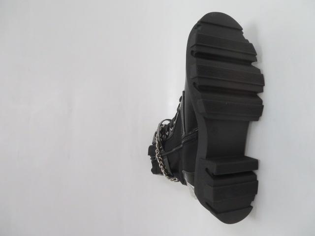 Botki Damskie QT32, Black, 36-41 3