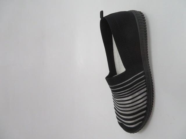 Półbuty Damskie HL-19017, All Black, 36-41