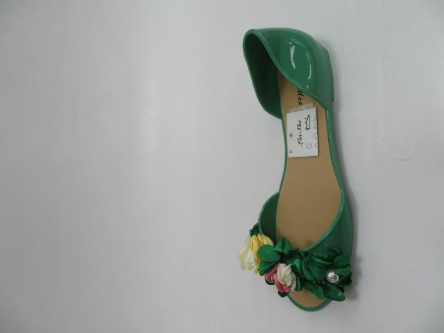 Baleriny Damskie AE20, Green, 36-41