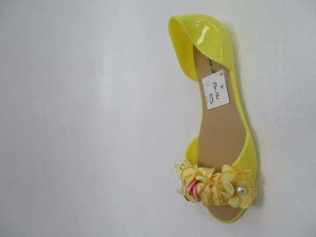 Baleriny Damskie AE20, Yellow, 36-41