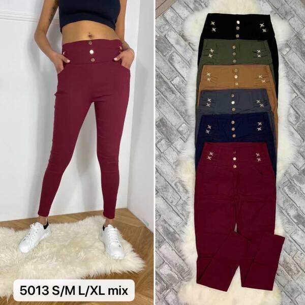 Spodnie Damskie 5013 MIX KOLOR S/M-L/XL