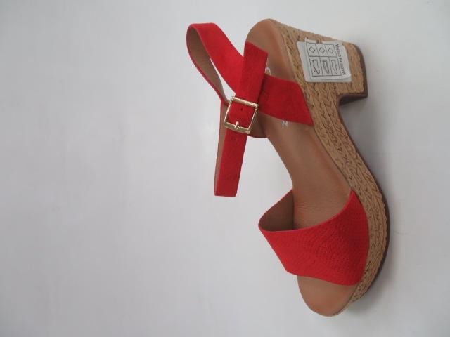 Sandały Damskie EX-16, Red , 36-41