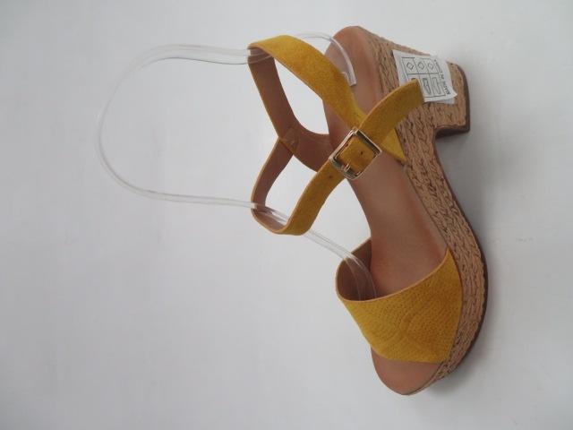 Sandały Damskie EX-16, Yellow , 36-41