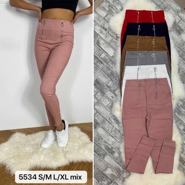 Spodnie Damskie 5534 MIX KOLOR S/M-L/XL