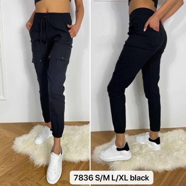 Spodnie Damskie 7836 1 KOLOR S/M-L/XL