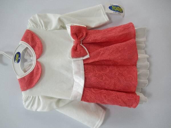 Sukienka Dziewczęca F8788 1 KOLOR 98-128