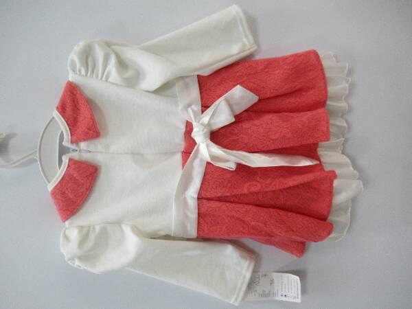 Sukienka Dziewczęca F8788 1 KOLOR 98-128 2