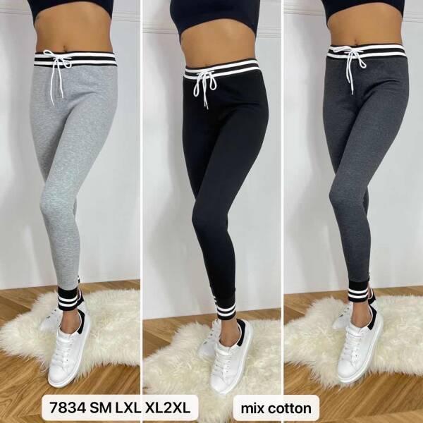 Spodnie Damskie 7834 MIX KOLOR S-2XL