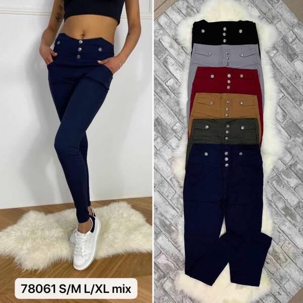 Spodnie Damskie 78061 MIX KOLOR S/M-L/XL