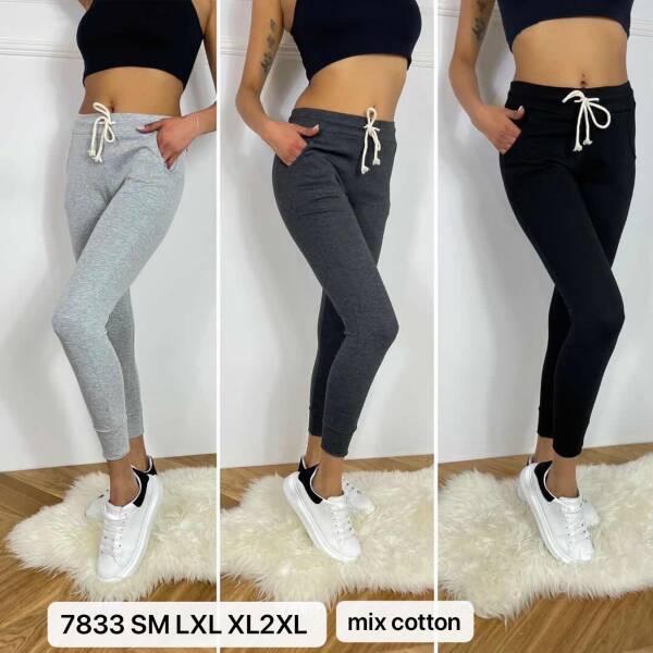 Spodnie Damskie 7833 MIX KOLOR S-2XL