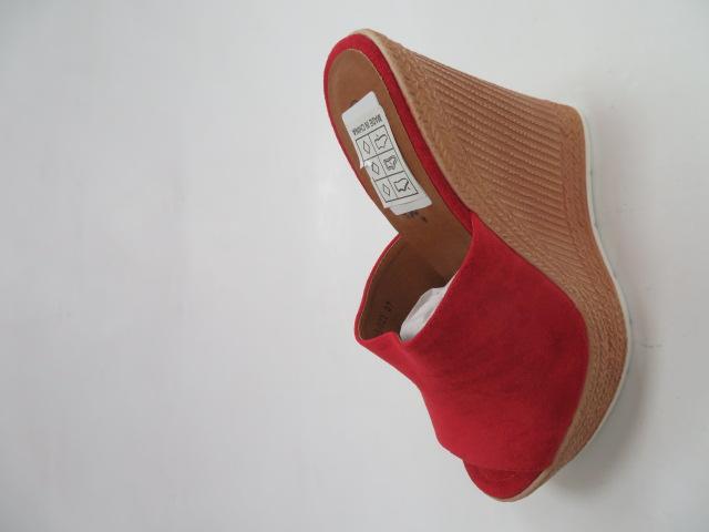 Czółenka Damskie  DS-023, Red, 36-41