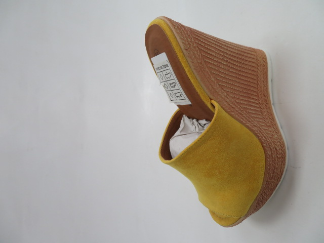 Czółenka Damskie DS-023, Yellow , 36-41