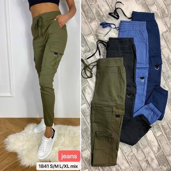 Spodnie Damskie 1841 MIX KOLOR S/M-L/XL