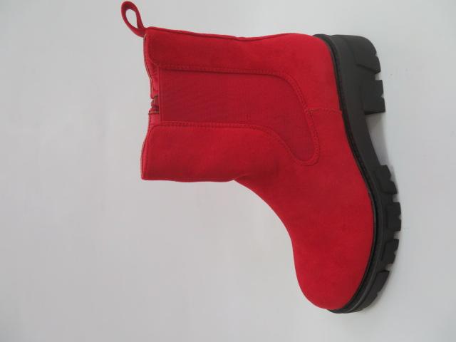 Botki Damskie NC1166 Red, 36-41