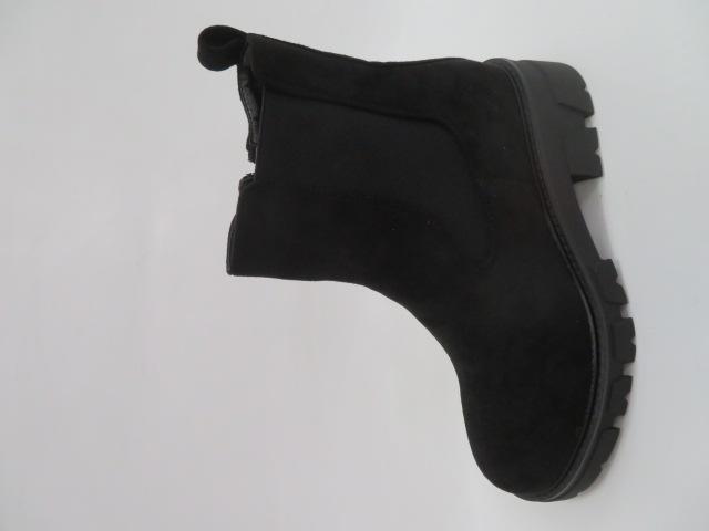 Botki Damskie NC1166, Black, 36-41