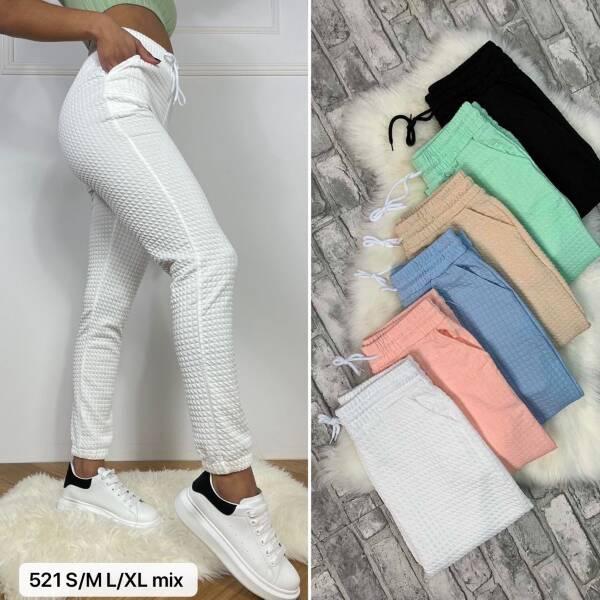 Spodnie Damskie 521 MIX KOLOR S/M-L/XL 1