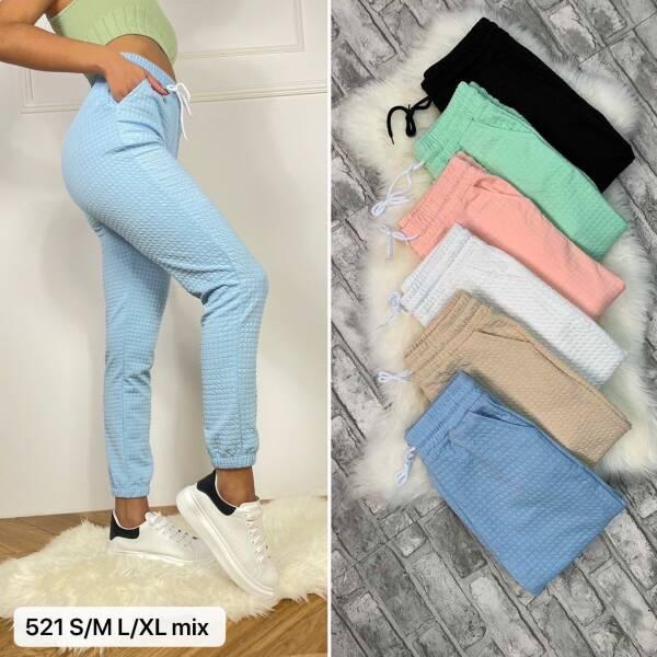 Spodnie Damskie 521 MIX KOLOR S/M-L/XL 4