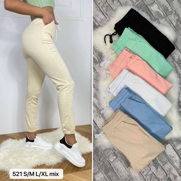 Spodnie Damskie 521 MIX KOLOR S/M-L/XL