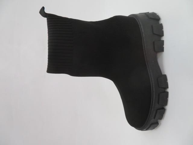 Botki Damskie FP01, Black, 36-41