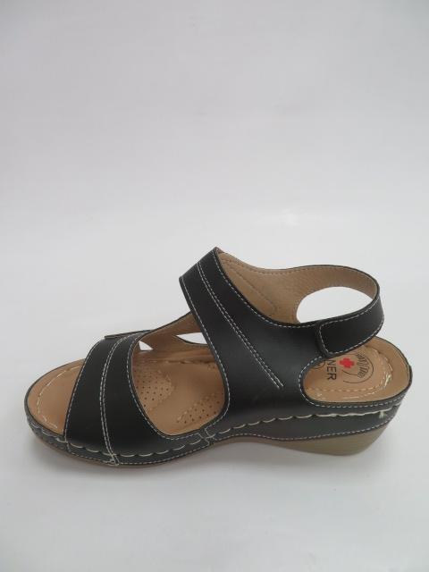 Sandały Damskie QT909, Black, 36-41