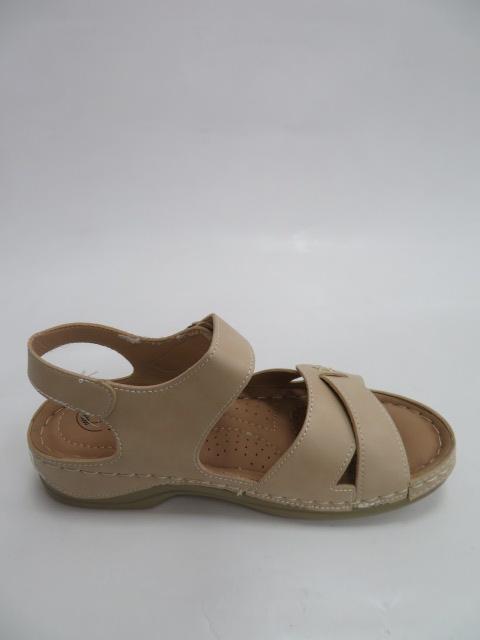 Sandały Damskie QT 907, Beige, 36-41