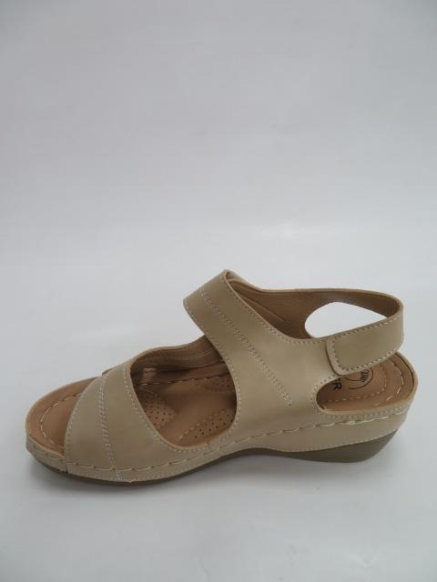 Sandały Damskie QT 909, Beige, 36-41