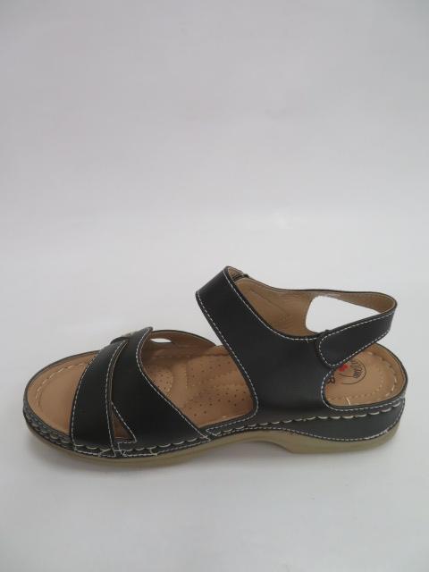 Sandały Damskie QT 907, Black, 36-41