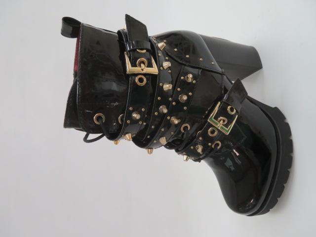 Botki Damskie M331, Black/Miro, 36-41