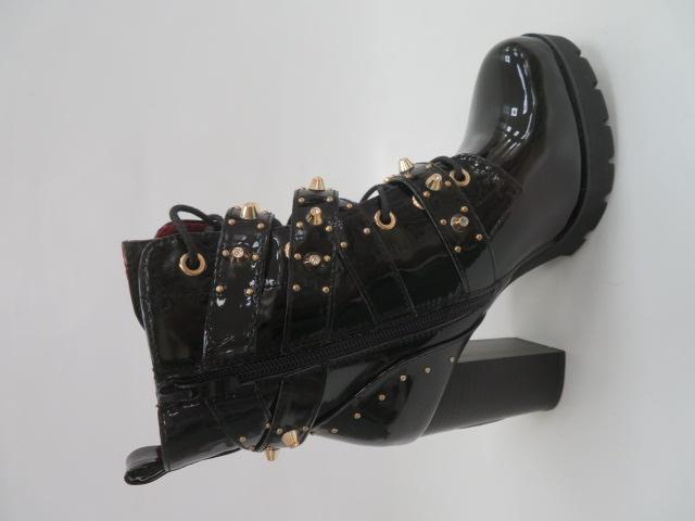 Botki Damskie M331, Black/Miro, 36-41 2