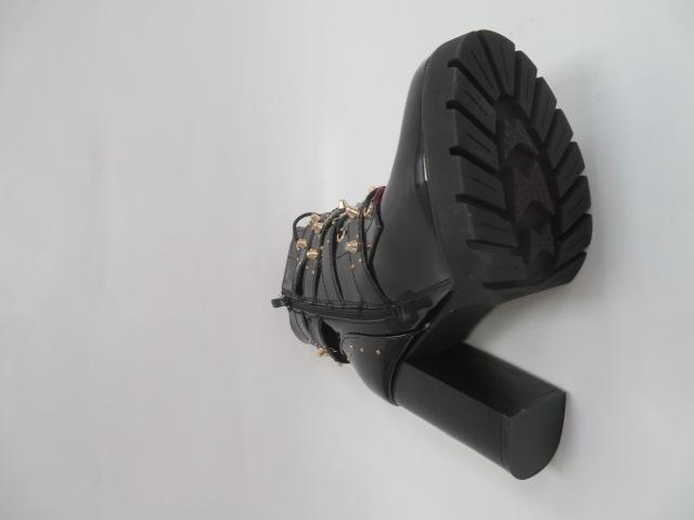 Botki Damskie M331, Black/Miro, 36-41 3