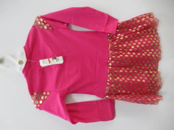 Sukienka Dziewczęca F8949 1 KOLOR 98-128