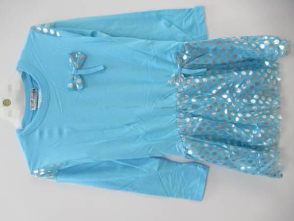 Sukienka Dziewczęca F8958 1 KOLOR 98-128