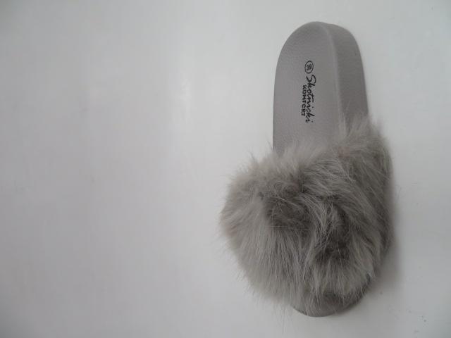Klapki Damskie G11, Grey, 36-41