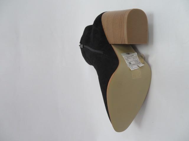Botki Damskie A5602, Black, 36-41 3