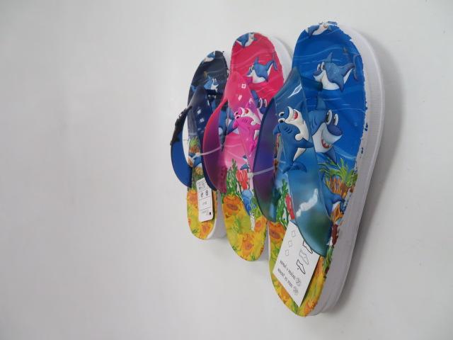Klapki Dziecięce T838-2, Mix 3 color, 30-35