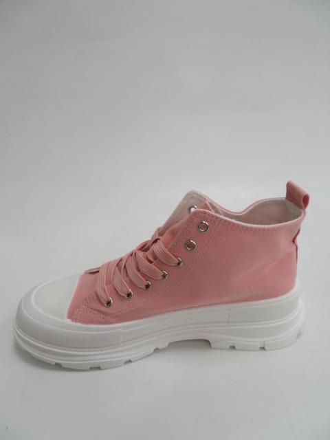 Trampki Damskie BO-677, Pink , 36-41