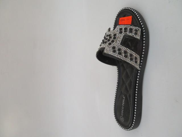 Klapki Damskie S161, Black, 36-41