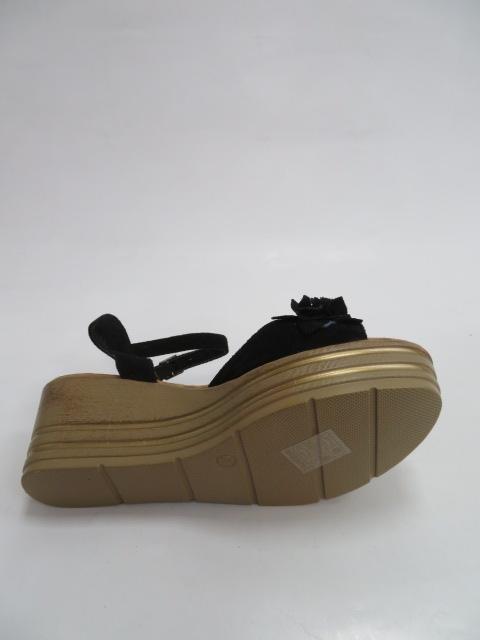 Sandały Damskie 5676, Black, 36-41