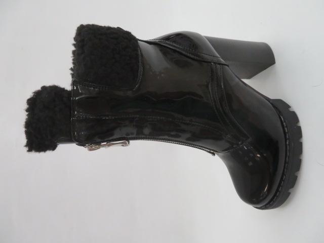 Botki Damskie M538, Black/Miro, 36-41