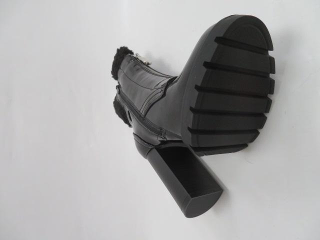 Botki Damskie M538, Black/Miro, 36-41 3
