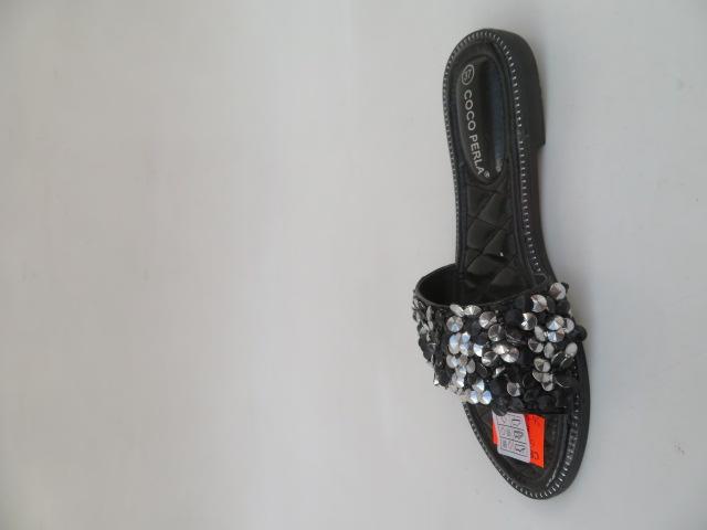 Klapki Damskie 5076, Black, 36-41 2