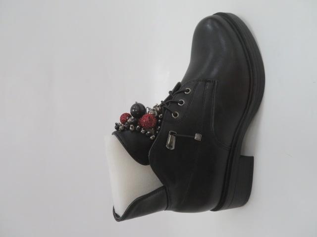 Botki Damskie CR3369, Black, 36-41