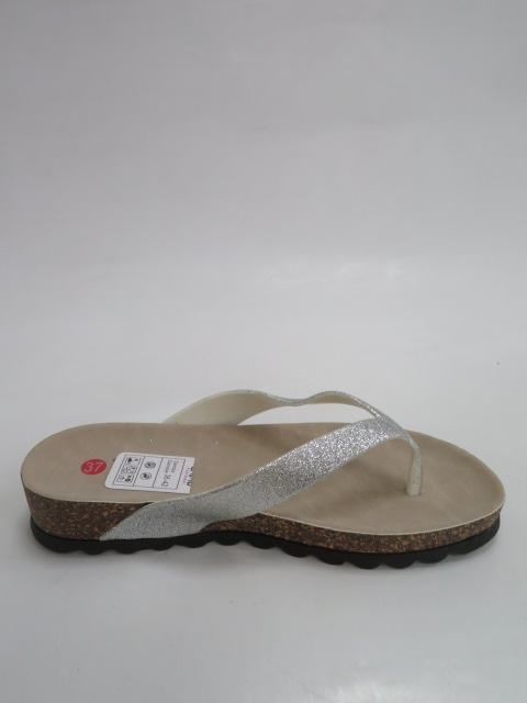 Japonki Damskie D 7635, Silver, 36-41