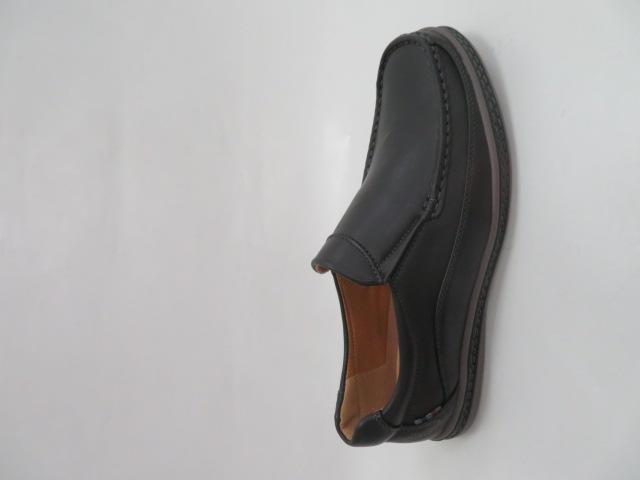 Półbuty Męskie MXC 445, Black, 40-45
