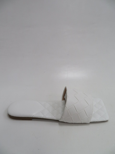 Klapki Damskie 2107, White , 36-41