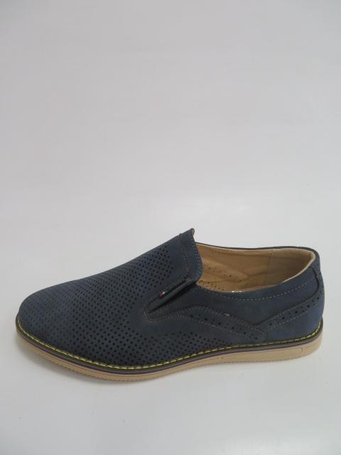 Półbuty Męskie FB-9066-3, Blue, 40-46