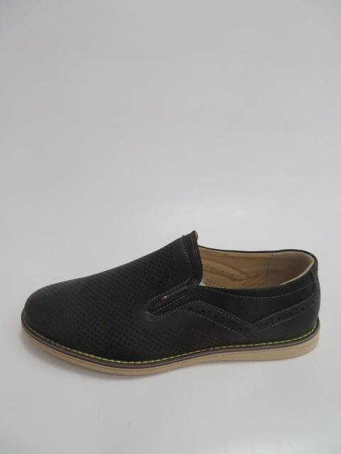 Półbuty Męskie FB-9066-1, Black, 40-46