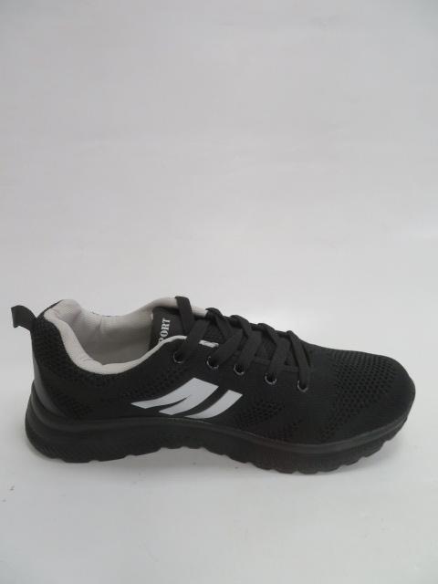 Buty Sportowe Męskie 9AF201B, Black/White  , 41-46