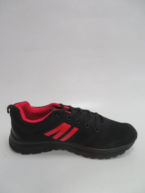 Buty Sportowe Męskie 9AF201B, Black/Red, 41-46