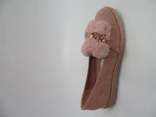Baleriny Damskie 68-92, Pink, 36-41